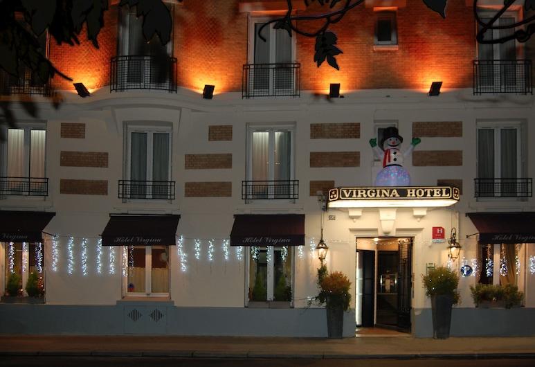 Hotel Virgina, Paris, Hotel Front