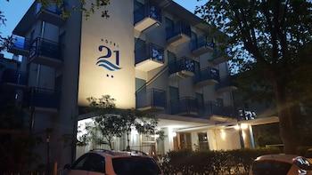 Selline näeb välja Hotel 21, Riccione