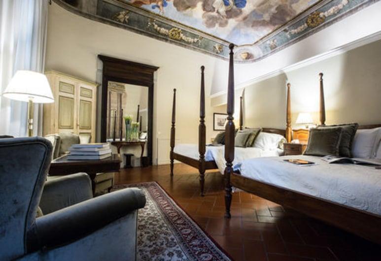 Hotel Burchianti, Florencia, Junior Suite Quadruple, Hosťovská izba