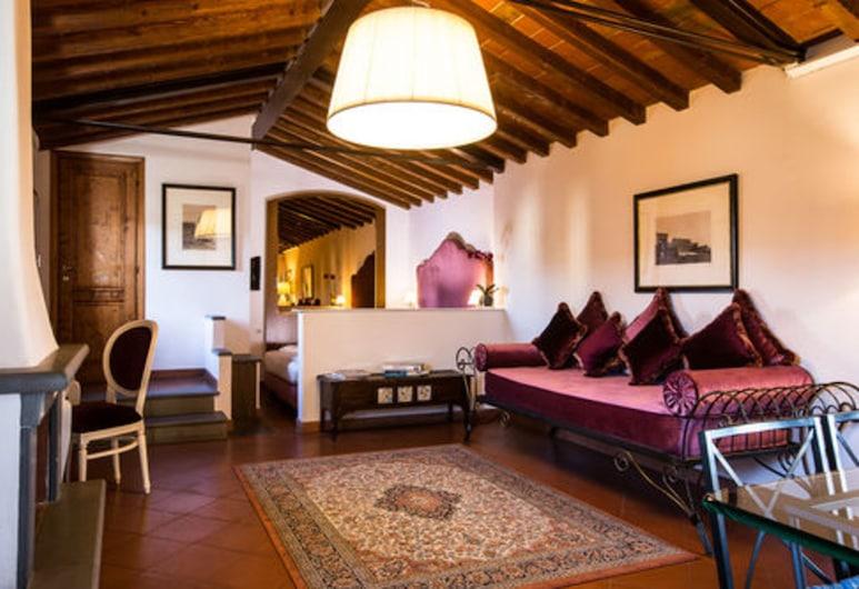 Hotel Burchianti, Florenz, Panoramic-Suite, Stadtblick, Zimmer