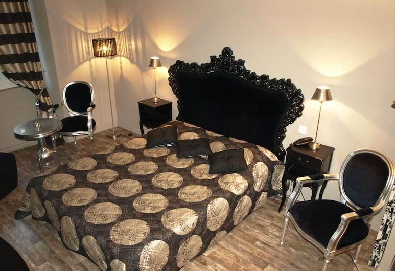 Azur Cannes Le Romanesque, Cannes, Comfort - kahden hengen huone, Vierashuone
