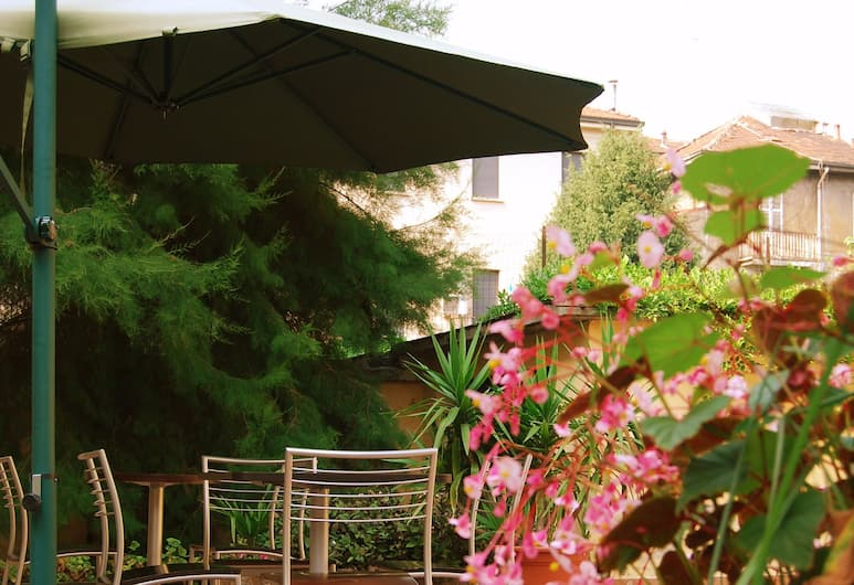 Hotel Salerno, Mailand, Garten