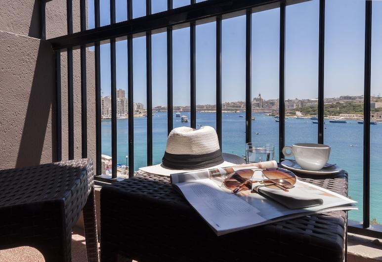 Sliema Hotel by ST Hotels, Sliema, Family Room, Sea View, Balkoni