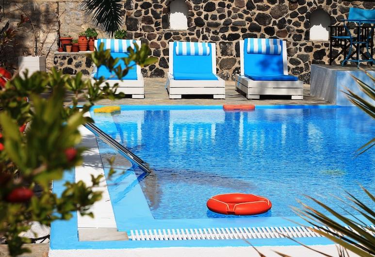 Evizorzia Villas, Thira, Vonkajší bazén