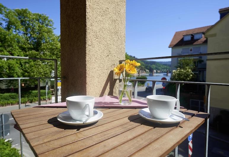 Hotel Zur Alten Brücke, Heidelberg, Classic Double Room, 1 Bedroom, River View, Annex Building, Guest Room