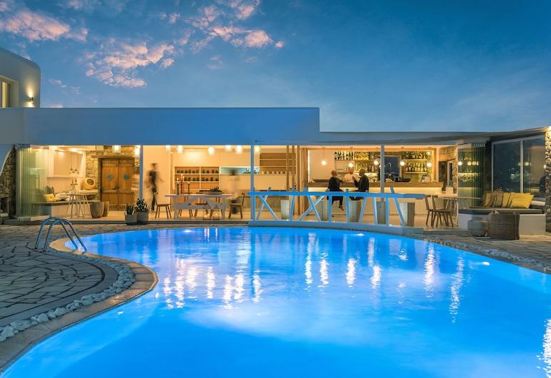 A Hotel Mykonos, , Μπαρ δίπλα στην πισίνα