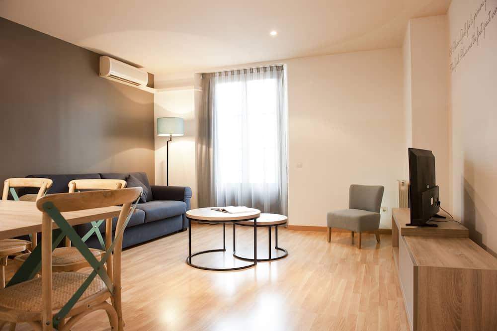 Lägenhet Grand - 2 sovrum - Vardagsrum