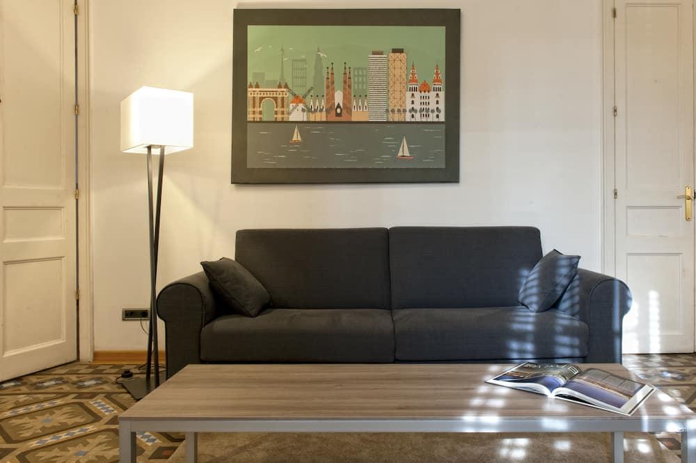 Superior-Apartment, 3Schlafzimmer - Wohnbereich