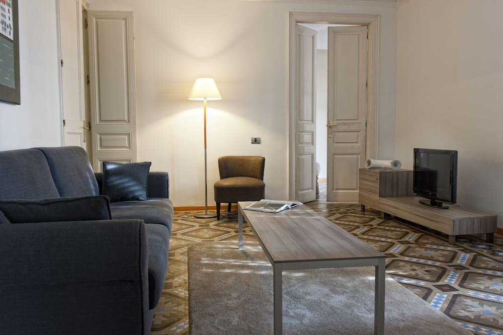 Superior-Apartment, 3Schlafzimmer - Wohnzimmer