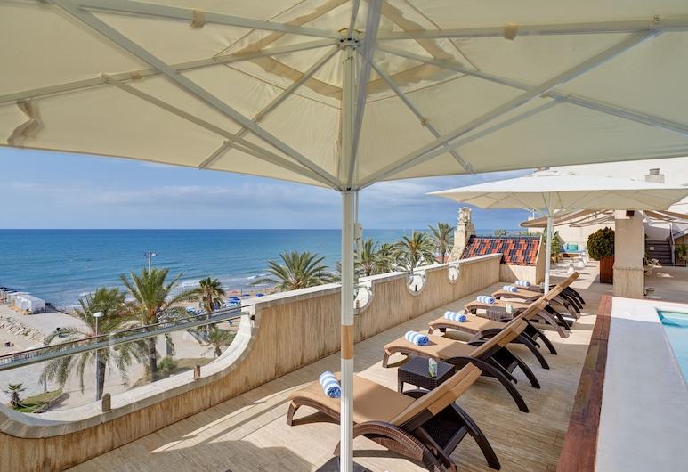 Kalma Sitges Hotel, Sitges, Chambre, vue mer, Piscine