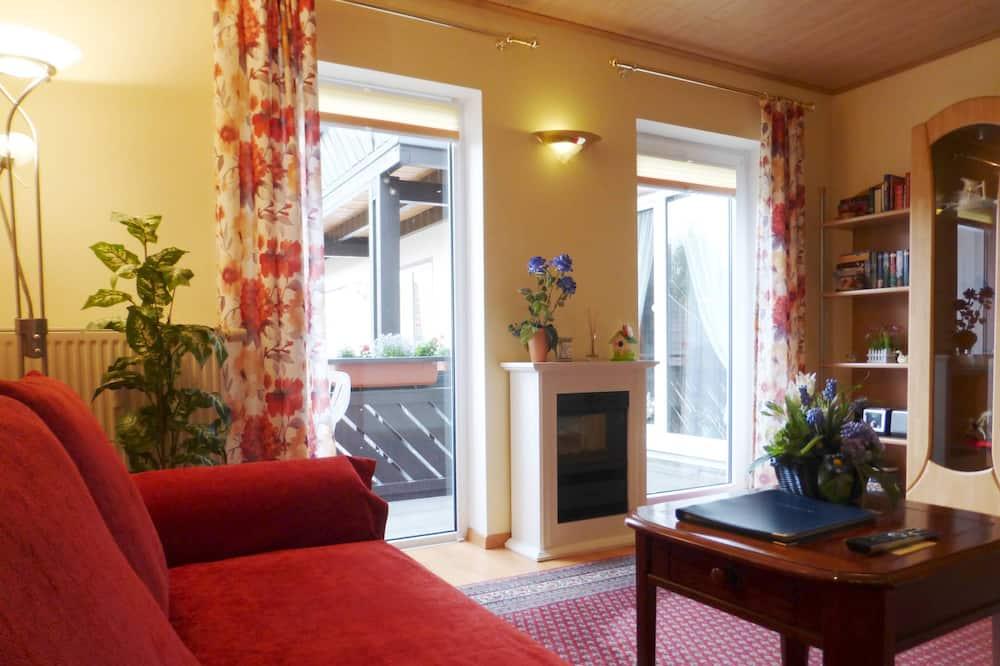 舒適公寓客房 (Blütenzauber) - 客廳