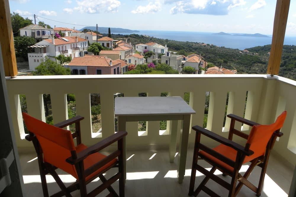 Štúdio typu Deluxe, výhľad na more - Balkón