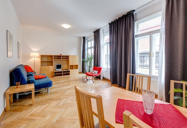 Ai Quattro Angeli, Prague, Apartment, 2 Bedrooms, Living Area