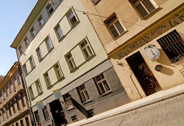 Ai Quattro Angeli, Prag, Fassade der Unterkunft