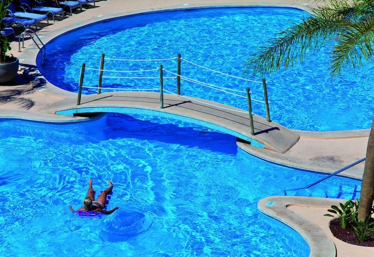 奧庫迪海洋酒店, 謬赫, 室外泳池