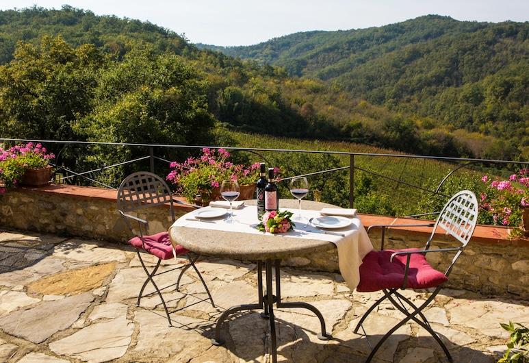 Livernano, Radda in Chianti, Terrass
