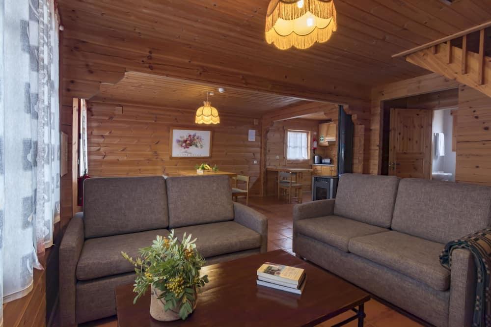 Dağ Evi (6 Adults) - Oturma Odası
