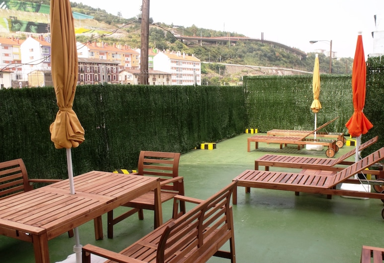 Hotel Ria de Bilbao, Bilbao, Terasa