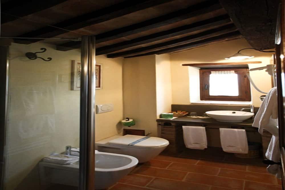 套房, 公园景观 - 浴室