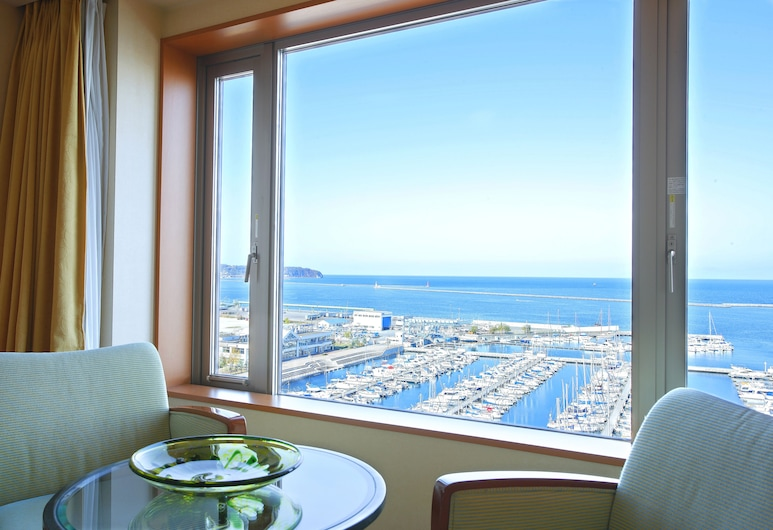 Grand Park Otaru, Otaru, Superior Triple Room, Non Smoking, Sea View (2 Beds+1 Extra Bed, 30 Days Advanced), Guest Room View
