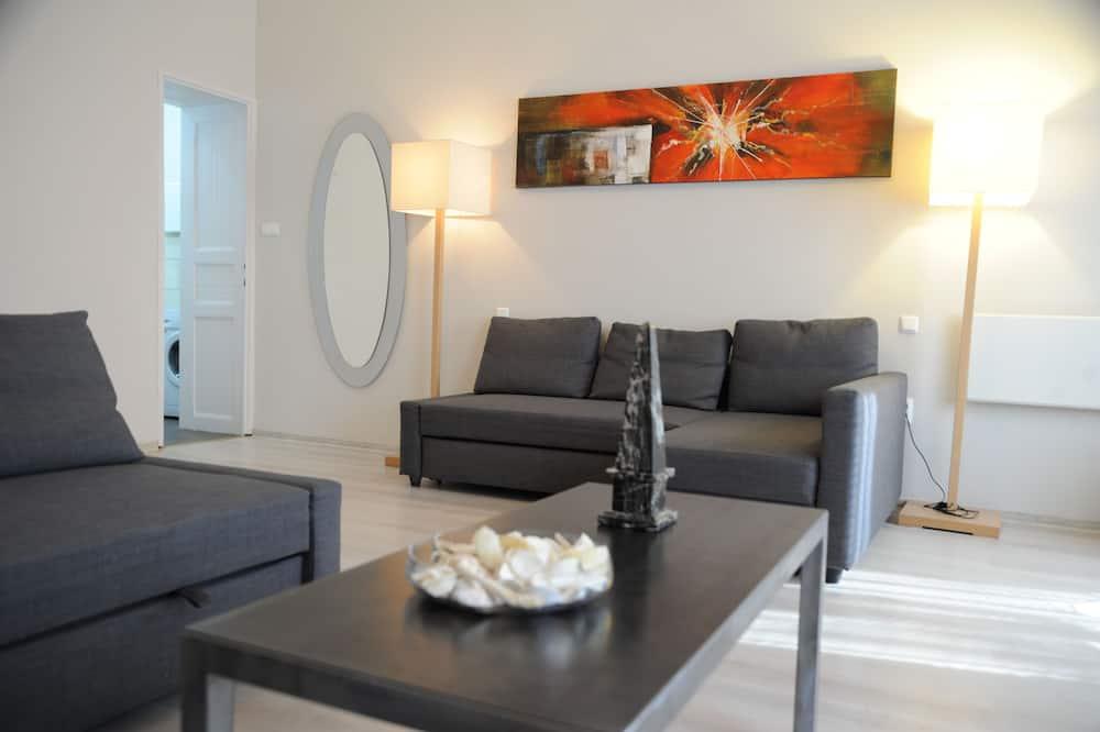 Comfort Apart Daire, 2 Yatak Odası, Bağlantılı Odalar - Oturma Odası