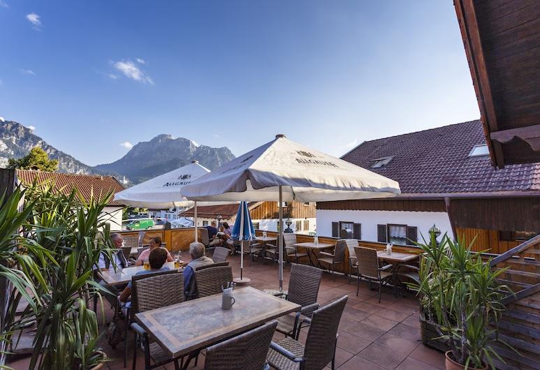 Hotel Hanselewirt, Schwangau, Terrass