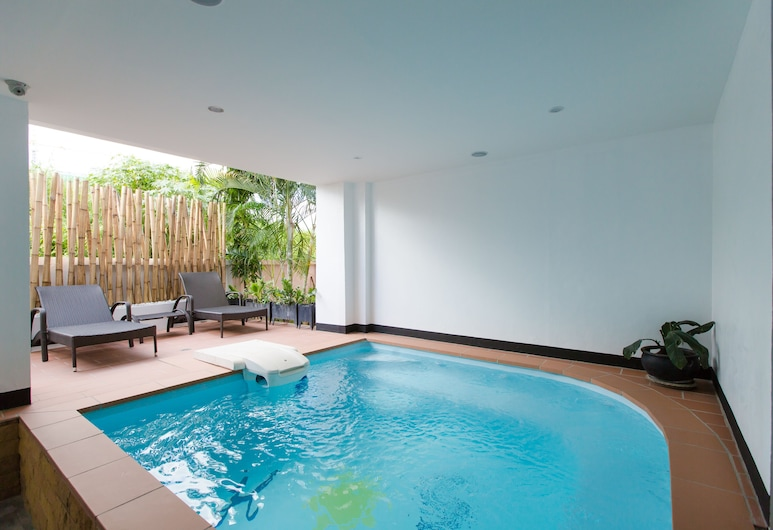 Hotel Sole, Patong, Outdoor Spa Tub