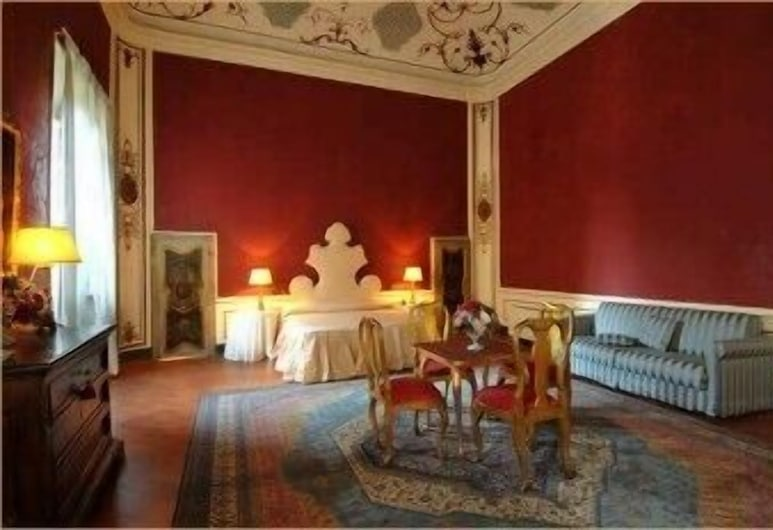 Palazzo Tucci Residenza d'Epoca, Lucca, Suite-Estúdio, Quarto