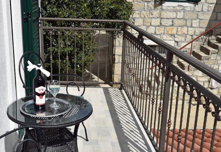 Kuzma Rooms, Split, Deluxe-Einzelzimmer (4*), Balkon