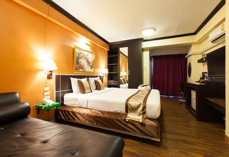 Vabua Asotel Bangkok, Bangkok, Suite, Rom