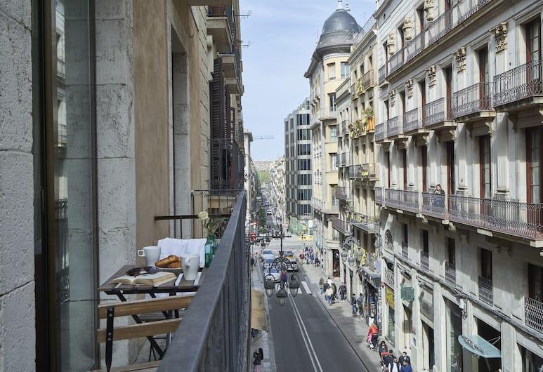 AinB Gothic-Jaume I Apartments, ברצלונה, דירת סטנדרט, מרפסת