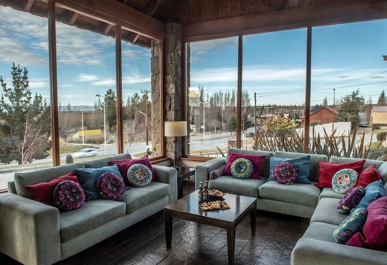 Mirador del Lago Hotel, El Calafate, Sala de estar en el lobby