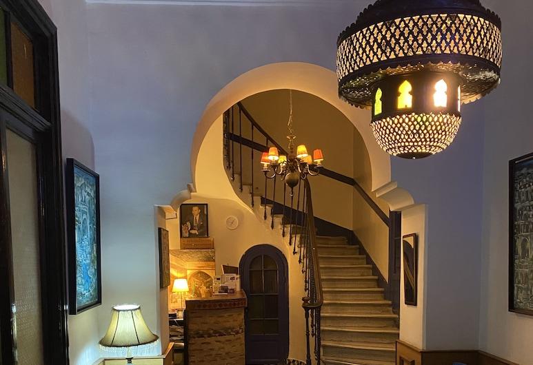 Hotel Central, Casablanca, Sala de estar en el lobby