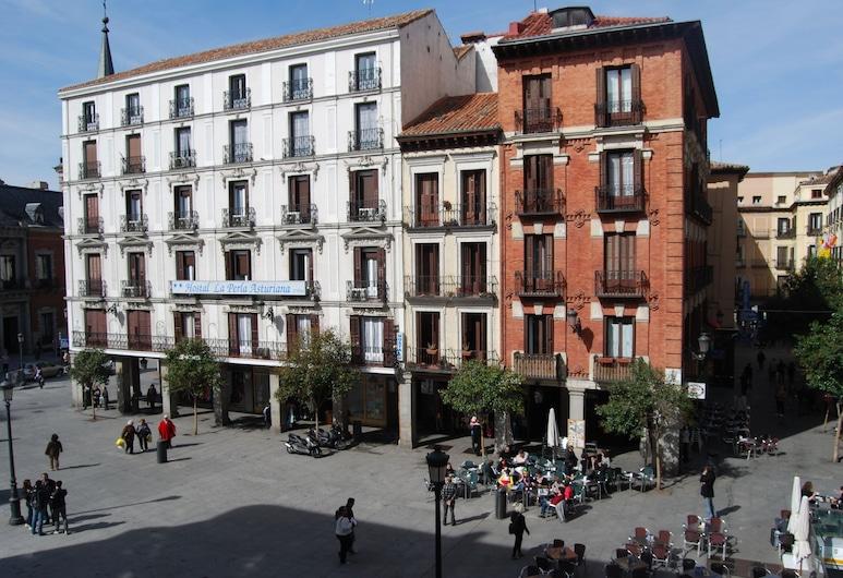 La Perla Asturiana Hostal, Madrid, Facciata hotel