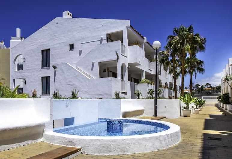 Apartamentos Albatros, Adechė, Apgyvendinimo įstaigos fasadas
