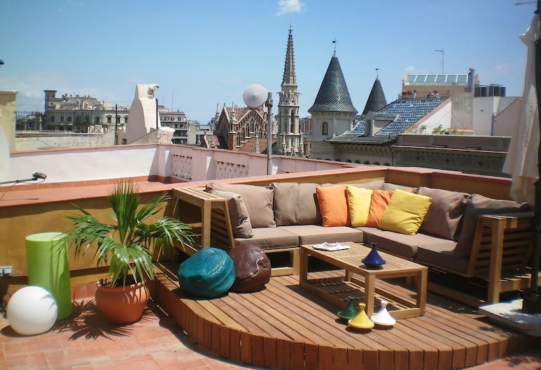 Easy Sleep Gaudi Terrace, Barcelona, Terrass