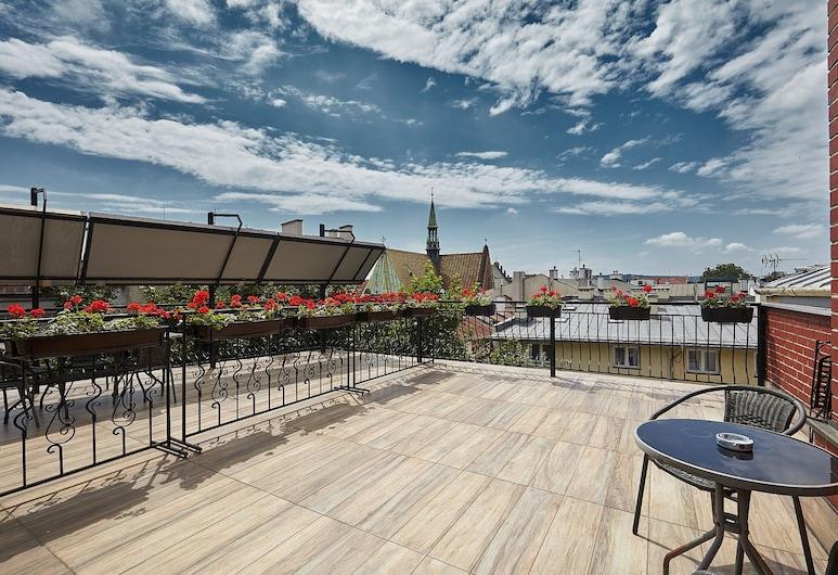Hotel Jan, Krakow, Apartmán s 1 ložnicí, Terasa