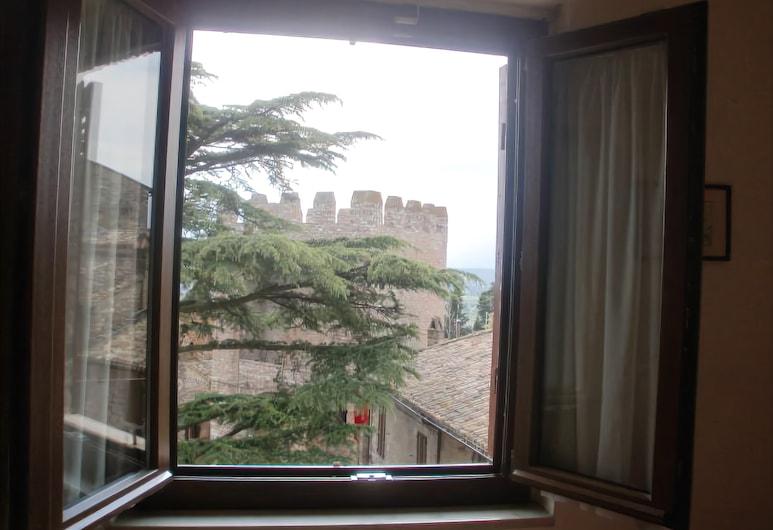 Hotel San Pietro, Assisi, Basic-Doppelzimmer, Ausblick vom Zimmer