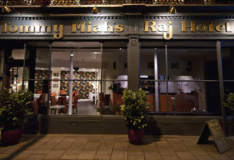 Islington Inn, London, Hotellets facade - aften/nat