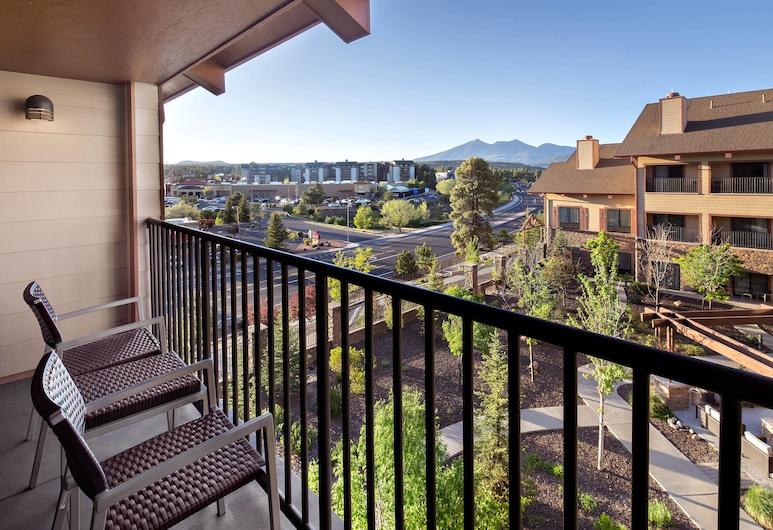 Courtyard Marriott Flagstaff, Flagstaff, Standarta numurs, 2 divguļamās karalienes gultas, balkons, Viesu numurs