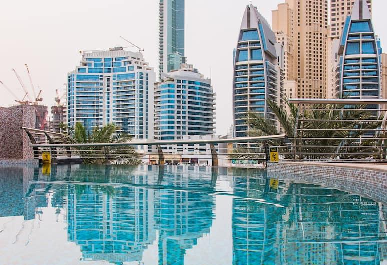 Signature Hotel Apartments & Spa, Dubai, Kolam Renang