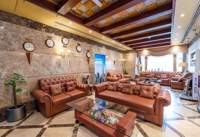 Crystal Plaza Hotel, Sharjah, Puhkeala fuajees
