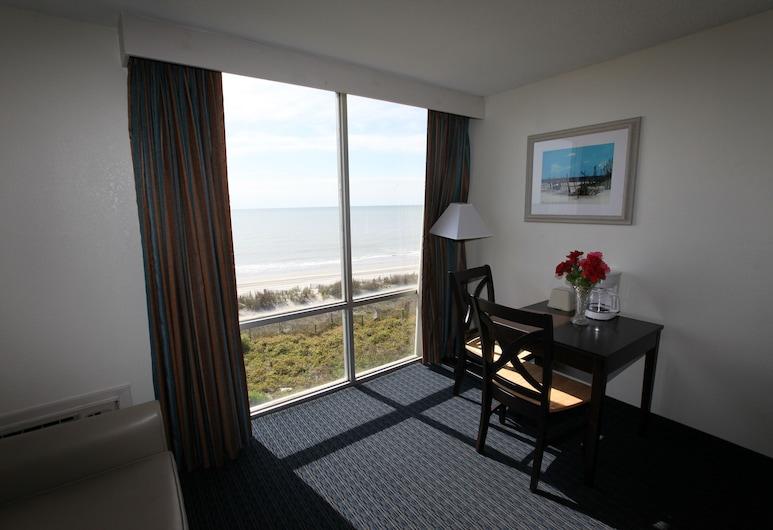 Bar Harbor, Myrtle Beach, Rom – basic, 1 kingsize-seng, utsikt mot hav, Utsikt fra gjesterommet