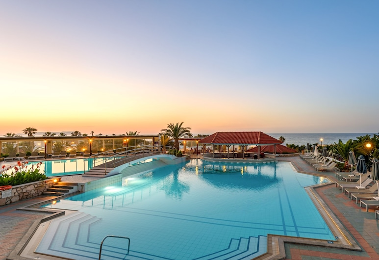 Annabelle Beach Resort - All Inclusive, Hersonissos, Udendørs pool