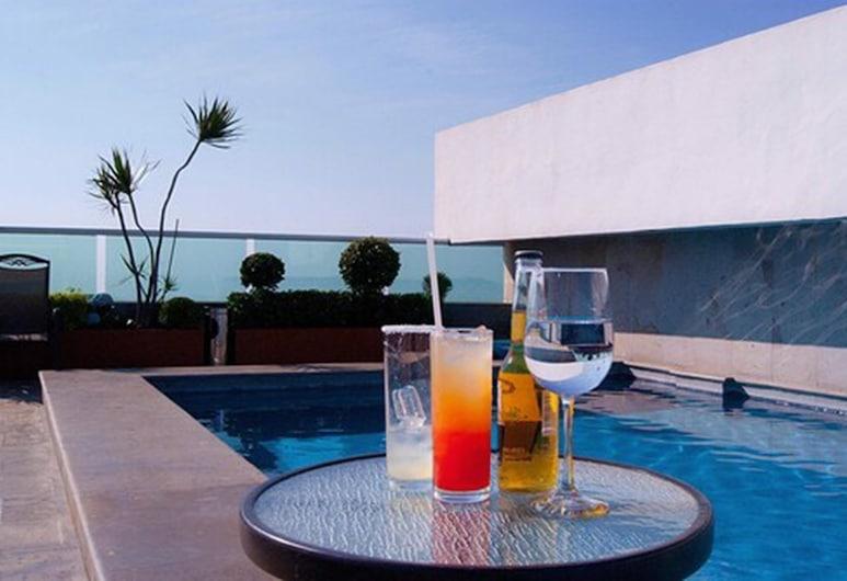 GS Hotel Cuernavaca, Cuernavaca, Pool auf dem Dach