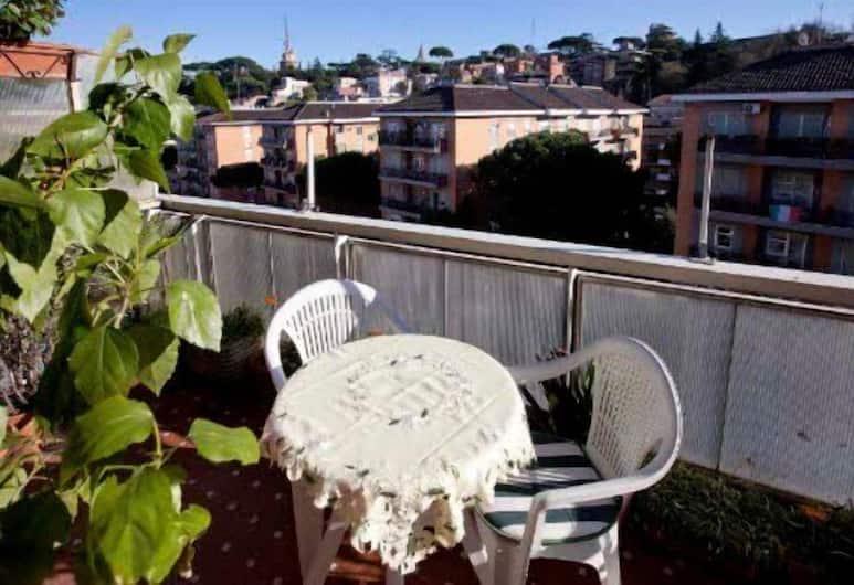 B&B 노나 데아, 로마, 더블룸, 공용 욕실, 테라스/파티오