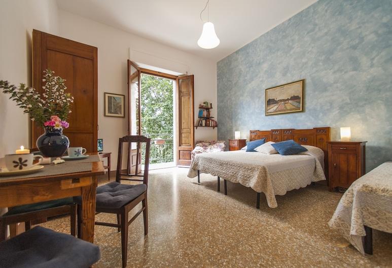 La Coperta Ricamata, Siena, Camera Comfort, 1 camera da letto, balcone, vista città, Camera