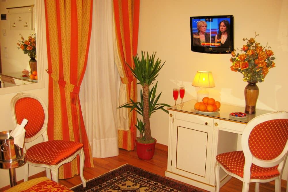 Pokój dwuosobowy typu Superior - Powierzchnia mieszkalna