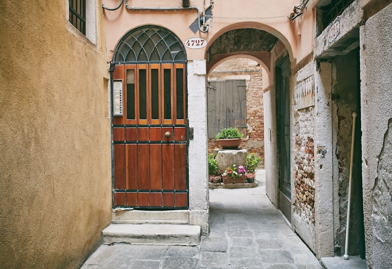 호텔 산 루카, 베네치아, 안뜰