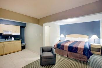 Introduce las fechas para ver los descuentos de hoteles en Midland